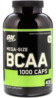 Bcaa Optimum On 400 Caps - Importado, V:11/20