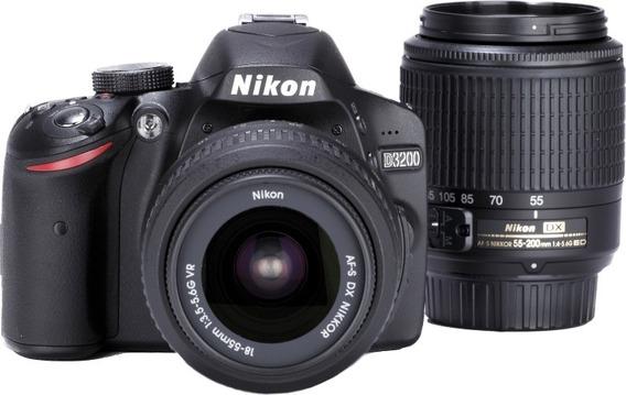 Camera Nikon D3200 C/ 18-55 Mm