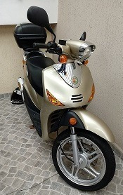 Scooter Garinni Gr150p Retrô