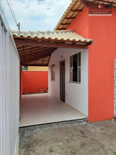 Casa Com 2 Dormitórios À Venda, 60 M² Por R$ 150.000,00 - Unamar - Cabo Frio/rj - Ca0216