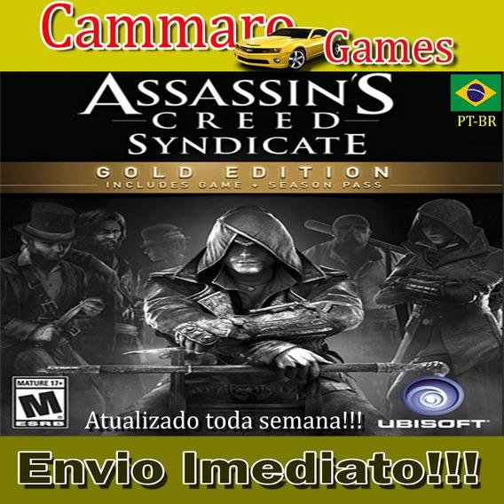 Assassins Creed: Syndicate Gold Edition Em Pt-br + 3 Games