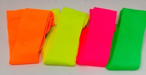 Medias Bucaneras Fluo Varios Colores Fiestas Corinto 5387
