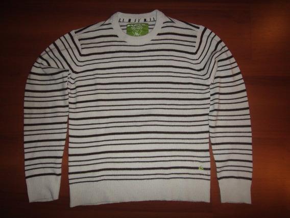 Blusa De Lã Quiksilver Importada Original Usada