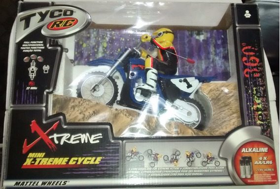 Moto Cross Tyco Xtreme Mattel Wheels Control Remoto
