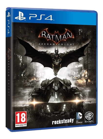 Batman Arkham Knight Ps4 Mídia Física Em Perfeito Estado