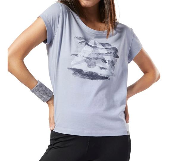 Remera Reebok Training Graphic Series Camo Easy Mujer Gr