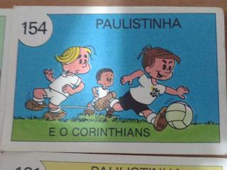 16 Figurinhas Times De Futebol Do Álbum Paulistinha Icms