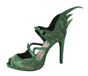 Zapatos De Hiedra Venenosa Poison Ivy Verdes Para Damas 3