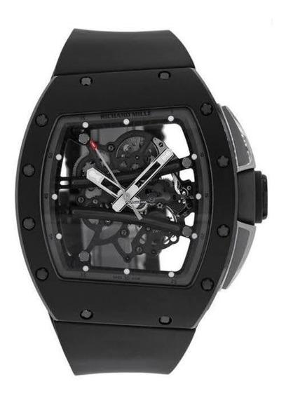 Relógio Richard Miller Automático - Pulseira De Borracha