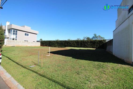 Terreno Em Condomínio À Venda, Por R$ 330.000 - Santa Felicidade - Curitiba/pr - Te0056
