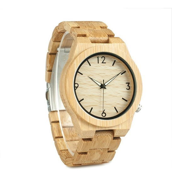 Bobo Bird Wd27 Bambu De Madeira Relógio Único Projeto Homens