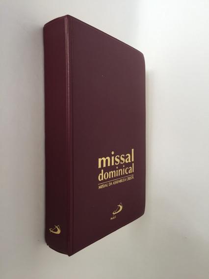 Livro Missal Dominical Da Assembléia Cristã Encadernado