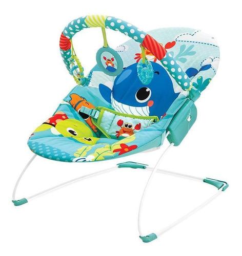Cadeira Musical E Vibratória Azul Mar Mastela