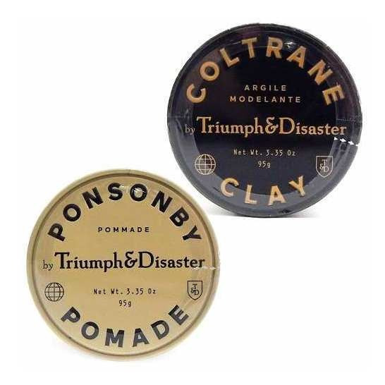 Triumph & Disaster Kit Cera Ponsonby 95g + Coltrane Clay 95g