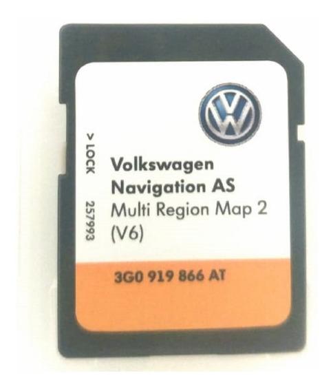 Cartão Memoria Gps Multi Região Vw Jetta Golf 3g0919866at V6