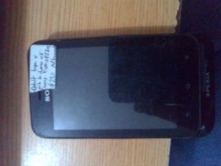 Telefono Sony Xperia St21a Con Detalle