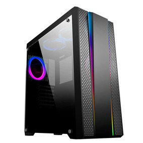 Pc Cpu Gamer 16gb Rx550 2tb 120ssd 750w Intel Kit Led Rgb