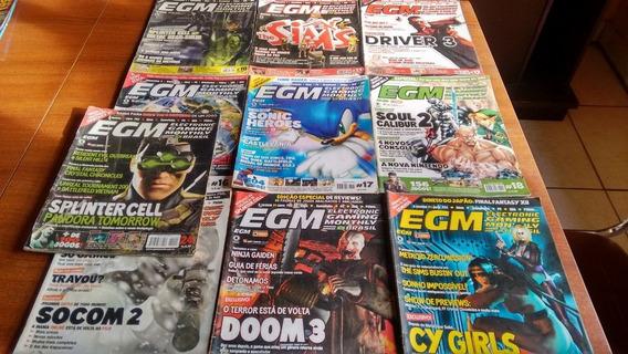 Lote De Revistas Egm Brasil - 10 Edições