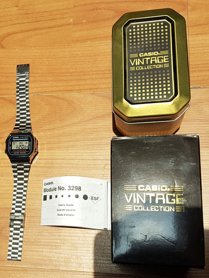 Reloj Casio Vintage Color Plateado Seminuevo