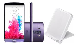 Smartphone Lg G3 D855 5.5 Vivo + Carregador Sem Fio Lacrado