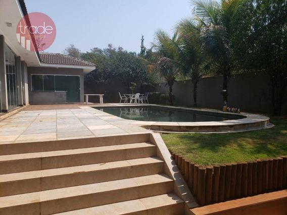 Casa Com 5 Dormitórios Para Alugar, 500 M² Por R$ 6.900/mês - Royal Park - Ribeirão Preto/sp - Ca2952