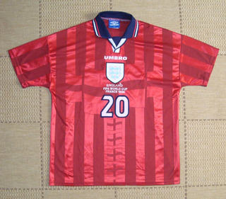 Camisa Original Inglaterra 1998 Away #20 Michael Owen