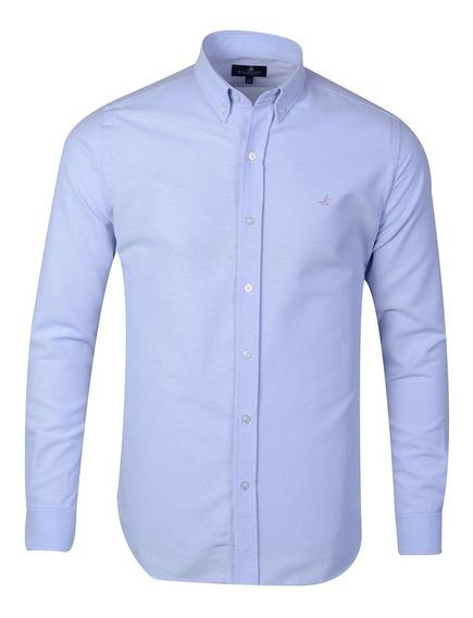 Camisa Hombre Algodón Oxford Premium Slim Fit Brooksfield