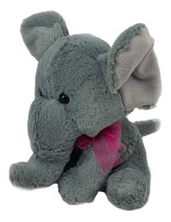 Peluche Elefante Flufy 19cm Precio De Mayoreo Baby Shower