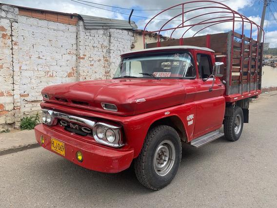 Gmc Camioneta Estacas 1960