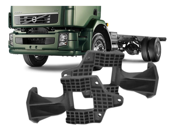 Par Dobradiça Capô Grade Caminhão Volvo Vm 260 270 310 330