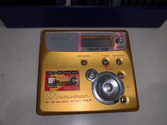 Minidisk Sony Pouquíssimo Usado Mais 14 Discos