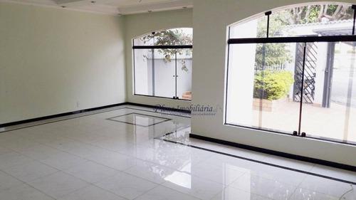 Casa Com 3 Dormitórios À Venda, 200 M² Por R$ 1.200.000,00 - Jardim Leonor Mendes De Barros - São Paulo/sp - Ca0369