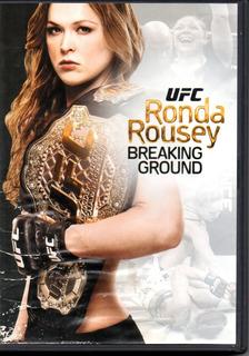 Ronda Rousey/ U F C Breaking Ground Dvd Importado