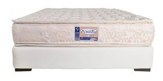 Tcv Colchon Ondaflex Doble Pillow 9 Años 160 Queen