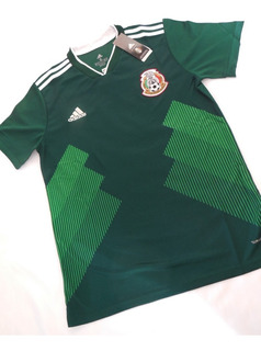 Camiseta Mexico Mundial Rusia 2018 Home adidas