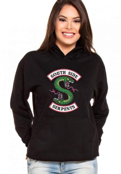 Moletom Canguru Feminino Série Riverdale South Side Serpents