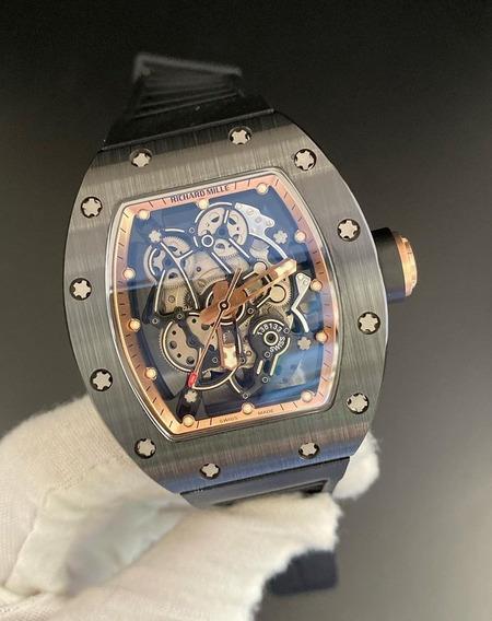 Relógio Rm Automático Caixa Em Cerâmica