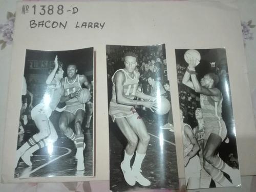 Fotografías Originales Del Basquetbolista Larry Bacon Aguada