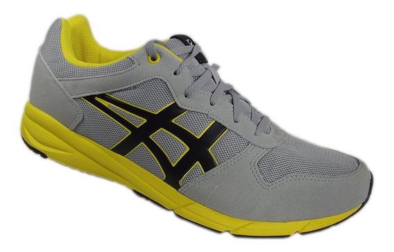 Tênis Asics Tiger Shaw Runner Unisex Amarelo