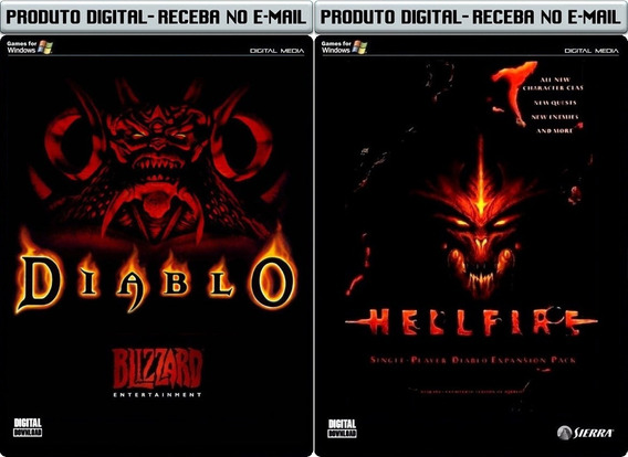 Diablo 1 E Expansão - Pc - Envio Digital