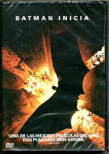 Batman Inicia. Christopher Nolan. Dvd Nuevo Sellado