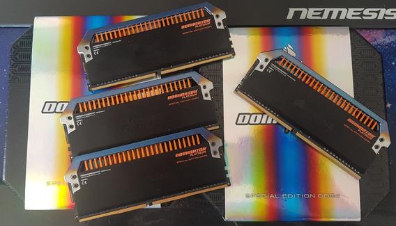Memória Ddr4 Corsair Dominator Platinum Torque Ed. 3200 Cl14