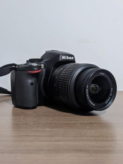 Câmera Nikon D5100 Na Caixa Completa