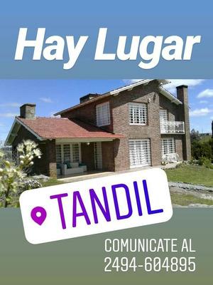 Alquiler Casas Quintas De 4 Hasta 15 Personas - Tandil
