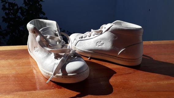 Zapatillas Lacoste Straightset Chukka 316 - Blanco
