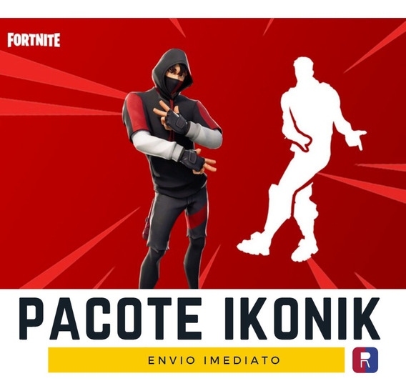 Skin Ikonik + Emote Fortnite - Pc - Ps4 - Xbox - Nintendo Switch