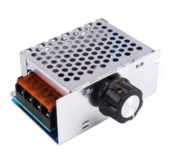 Dimmer 4000w Controlador De Potência Ac Regulador De Tensão