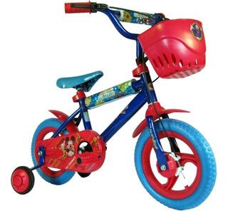 Bicicleta Niños Rodado 12 Mikey Unibike