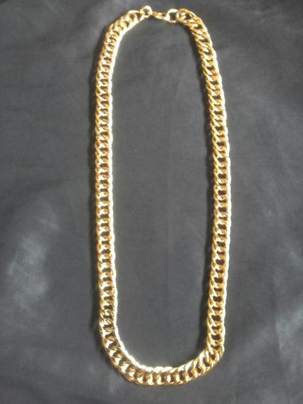 Cordão Dourado Com 65 Cm Banho De Verniz Protetor Para Joia