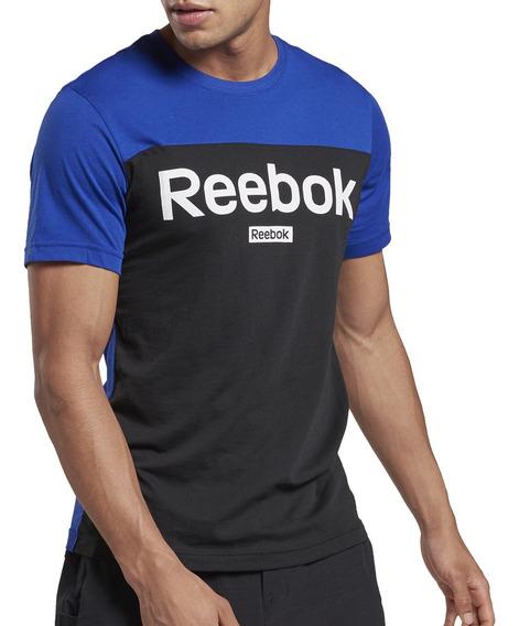Remera Reebok Training Essentials Linear Hombre Fr/ng